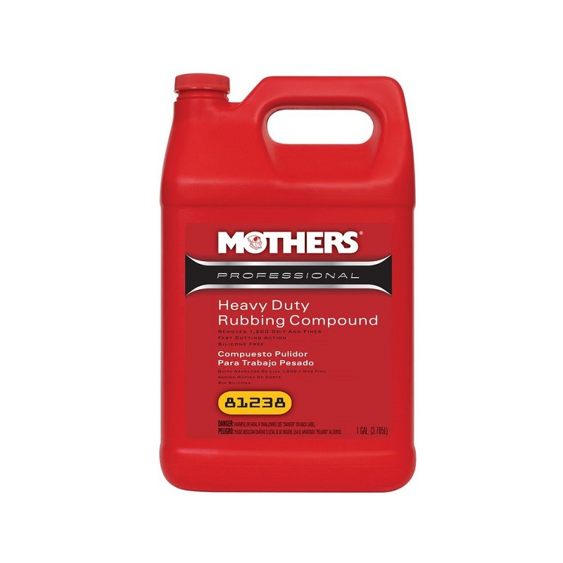 Mothers Heavy Duty Rubbing Compound 3.78L