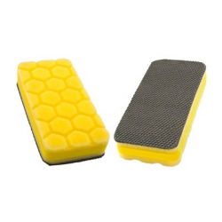 Flexipads Yellow Heavy Cut Clay Pad Applicator