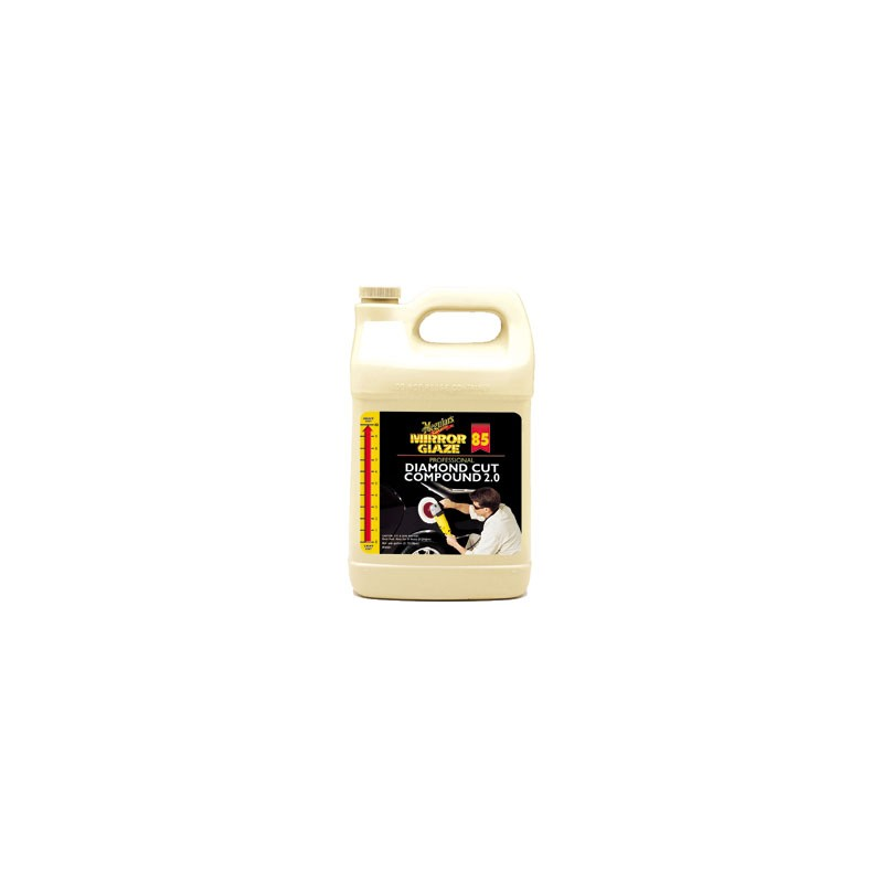 Meguiars Mirror Glaze 85 Diamond Cut Compound 2.0 3,8L