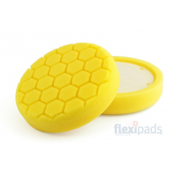 Flexipads Yellow Heavy Cutt/Compounding Pad 150/125x35mm