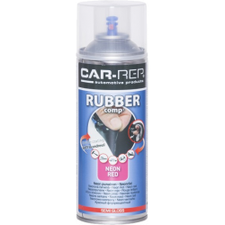 RubberComp Neon Röd 400ml